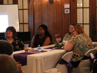 Domestic Violence Awareness Banquet hosted by Jones County District Attorney's Office