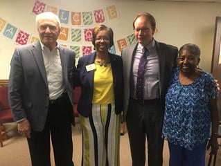 Child Abuse Awareness Program and Meet & Greet for Mayor Parham-Copelan in Milledgeville, Georgi