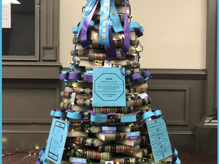 September's Awareness Tree