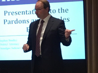 District Attorney speaks at Capital Litigation Seminar