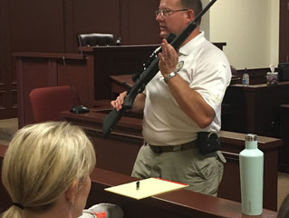 ADAs attend training on firearms