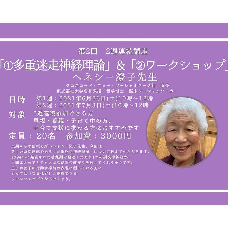 GHW②多重迷走神経理論(締切6/23・2週連続講座)