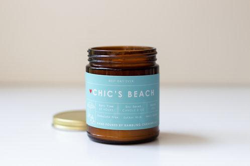 Chic's Beach, Virginia Beach Candle
