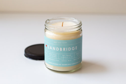 Sandbridge, Virginia Beach, Virginia Candle