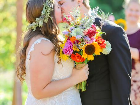 FALL WEDDING AT THE PIERCE HOUSE, LINCOLN MA [MR. & MRS. ELHILOW]