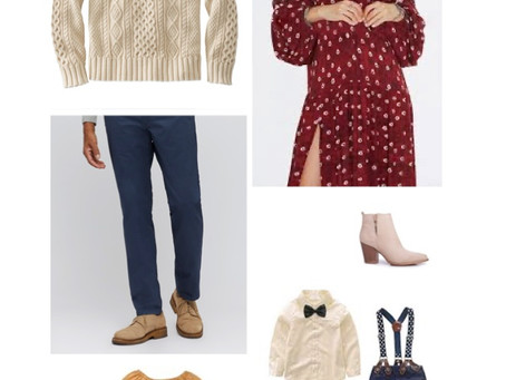 WHAT TO WEAR FOR YOUR FALL/WINTER PHOTO SESSION