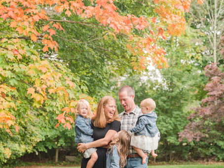 NEW ENGLAND FOLIAGE // FAMILY SESSION