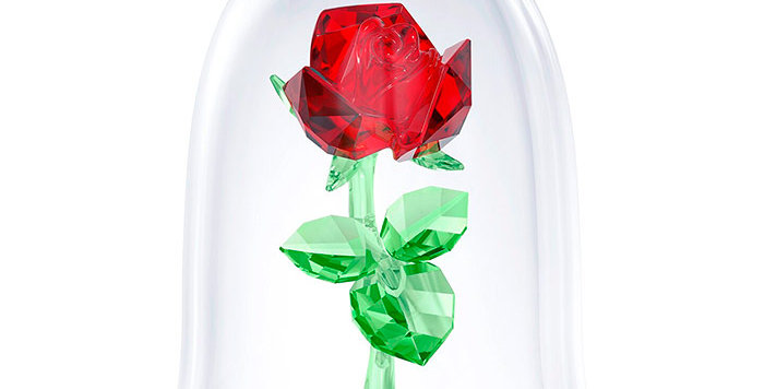Swarovski figurer Disney - Enchanted Rose