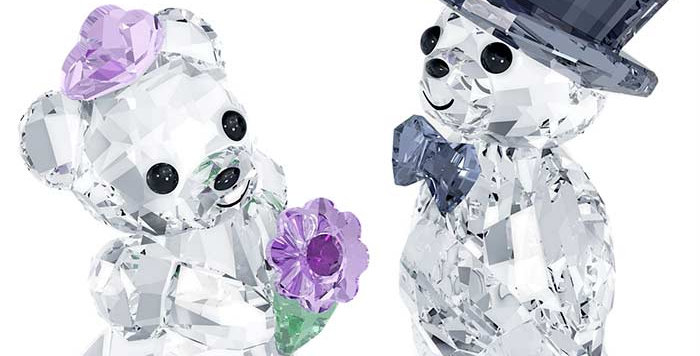 Swarovski figurer Kris Bear - You & I