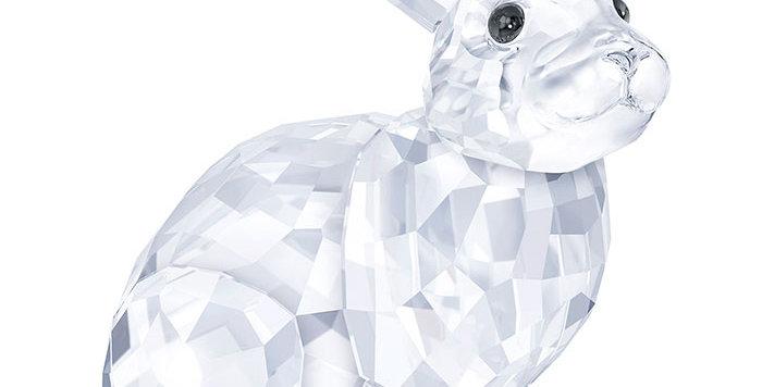 Swarovski figurer Rabbit, hvit