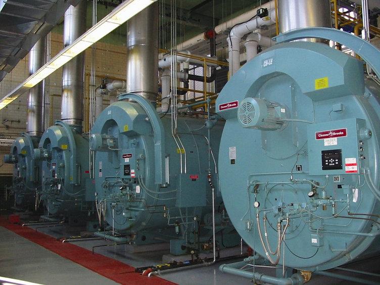 Calderas y Generadores de Vapor, Agua Caliente y Aceite Termico
