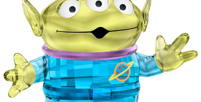 Swarovski figurer Disney - Pizza Planet Alien