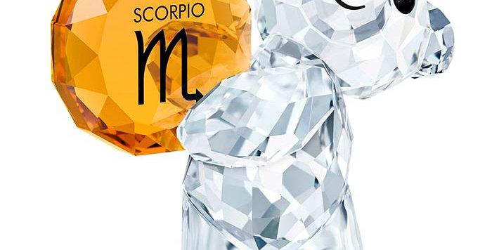 Swarovski figurer Kris Bear - Scorpio