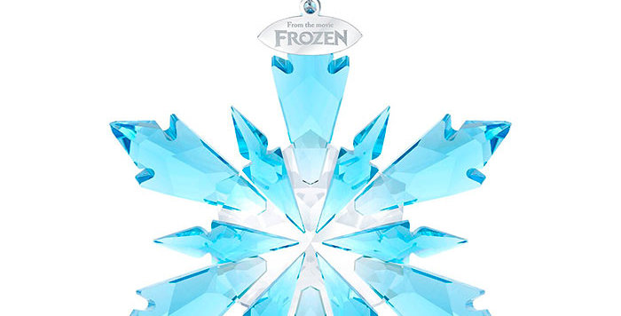 Swarovski figurer Disney - Frozen Snowflake Ornament