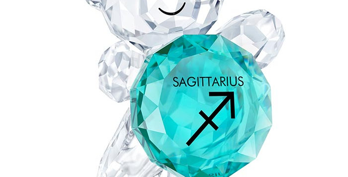 Swarovski figurer Kris Bear - Sagittarius