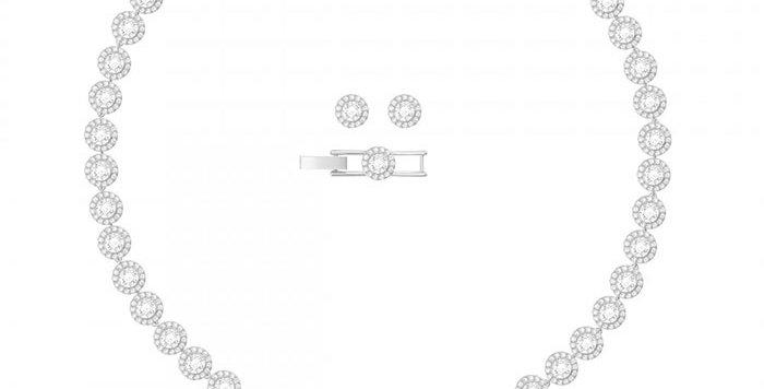 Swarovski smykkesett Angelic