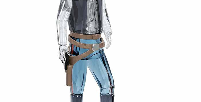 Swarovski figurer. Star Wars Han Solo