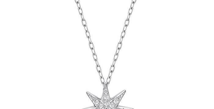 Swarovski smykke Fizzy Rhodium & Clear Crystal