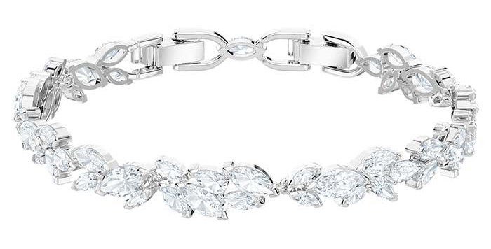 Swarovski armband Louison, hvit