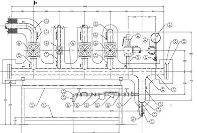 fabricacion y diseño de manifolds de vapor