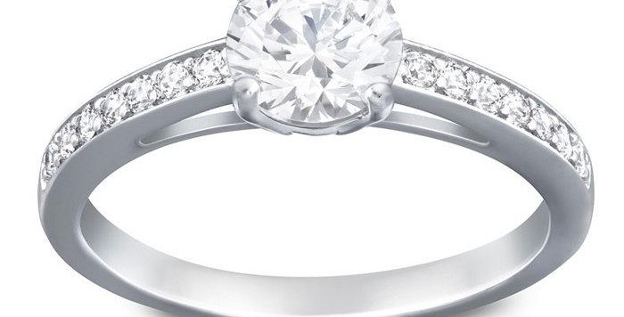 Swarovski ring Attract Round Ring