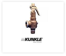 Valvula de seguridad vapor para calderas Kunkle