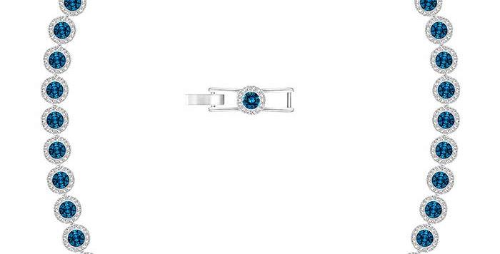 Swarovski collier Angelic, blue