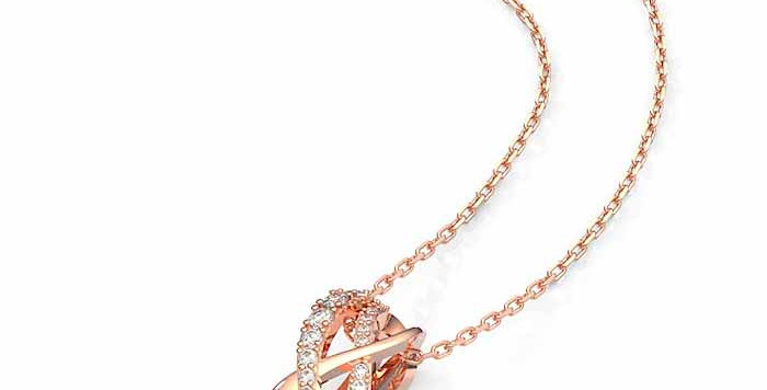 Swarovski smykke Twist, Rose