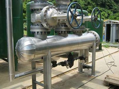 manifold colector de vapor