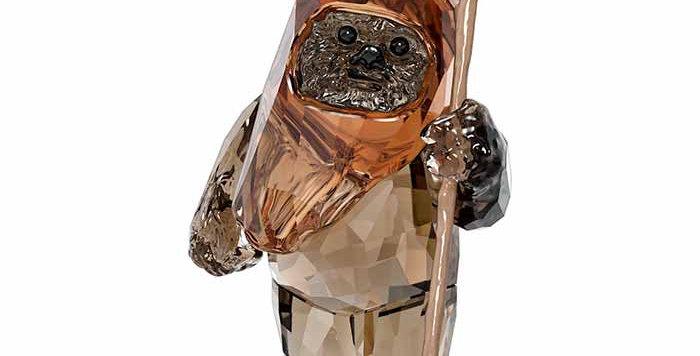Swarovski figurer Star Wars Ewok Wicket