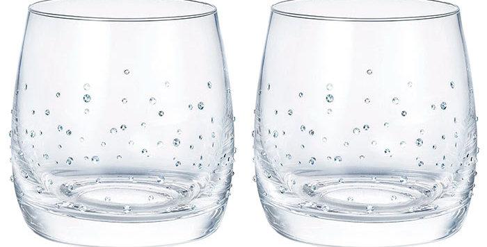 Swarovski glass Light Tumblers