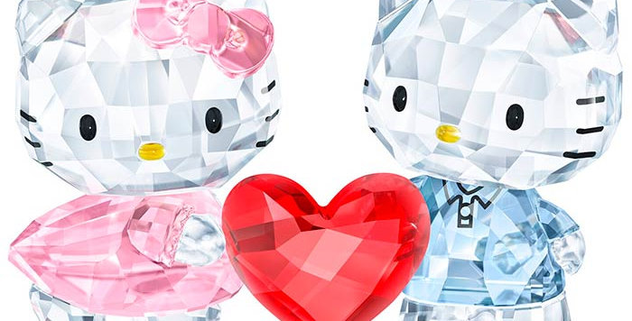 Swarovski figurer Hello Kitty & Dear Daniel