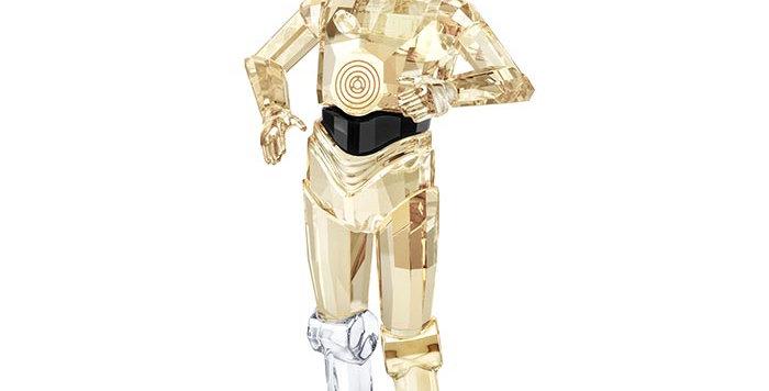 Swarovski figurer Disney Star Wars - C-3po