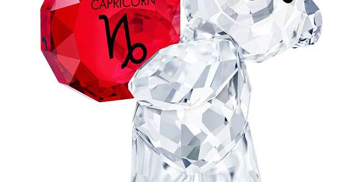 Swarovski figurer Kris Bear - Capricorn