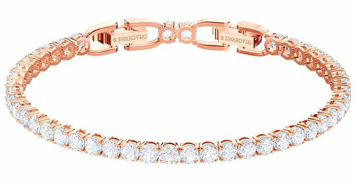Swarovski armbånd Tennis , Rose-gold