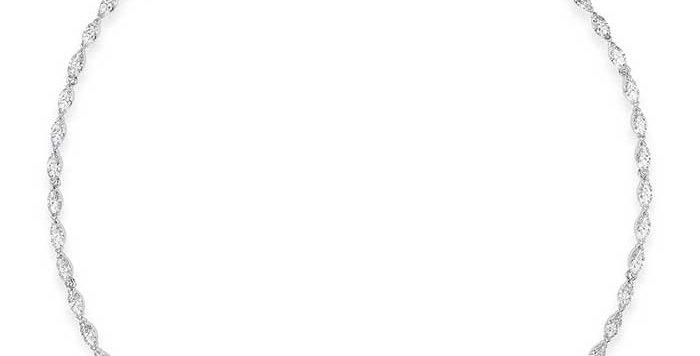 Swarovski collier Louison, blå