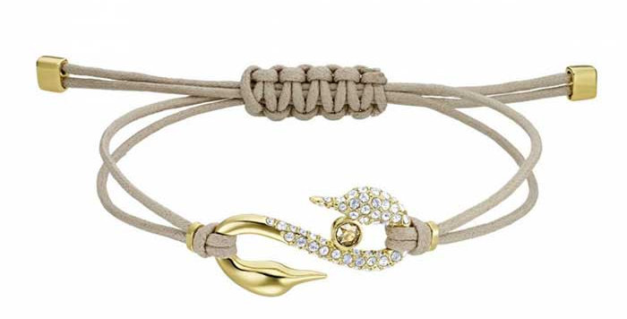 Swarovski armbånd Hook, Beige