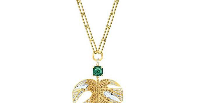Swarovski smykke Tropical Leaf