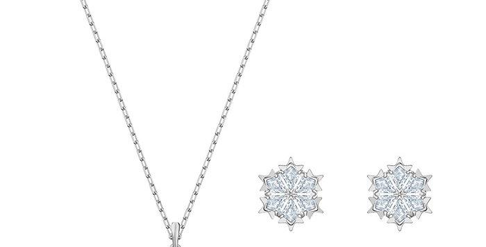 Swarovski smykkesett Magic Snowflake