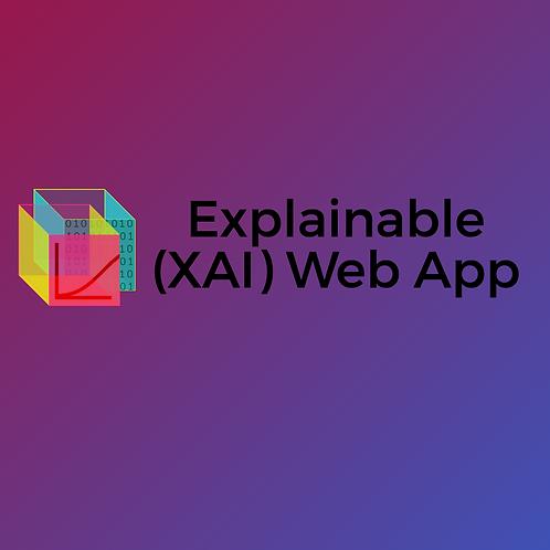 Explainable (XAI) Web App