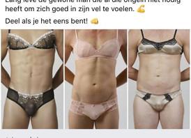 Iedereen heeft vrouwelijke en mannelijke kantjes