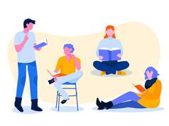 מרצים משתפים: עבודה בקבוצות בשיעור מקוון