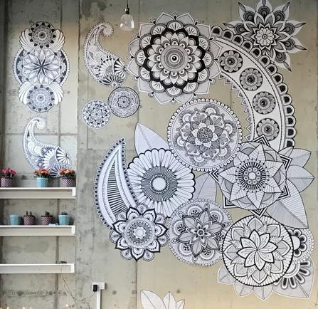 Hand Drawn Wallpaper Artwork