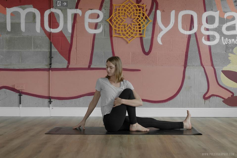 yoga characters mural 04
