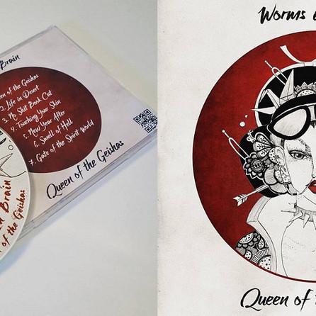 Album cover illustration and design