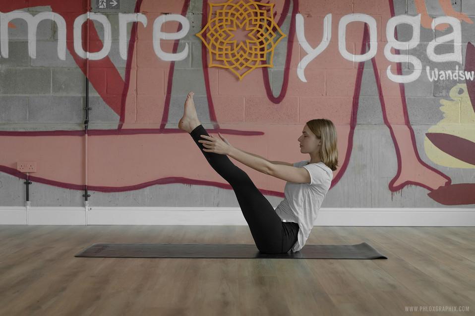 yoga characters mural 02