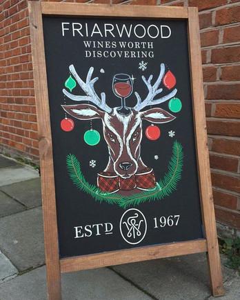 friarwood chalkboard
