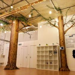 Birch forest & tree installations