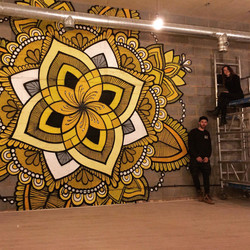 Mandala Mural - Lewisham