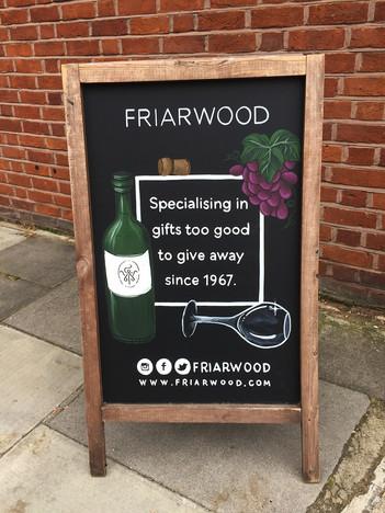 friarwood chalkboard art